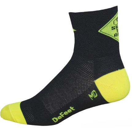 Chaussettes DeFeet Aireator Share the Road
