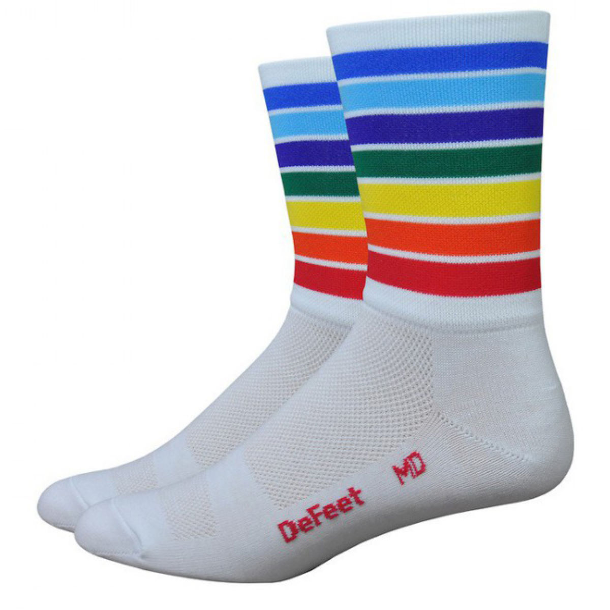 Chaussettes DeFeet Aireator Champion of the World (hautes) - S
