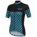 Stolen Goat Womens Bodyline Dogtooth Short Sleeve Jersey