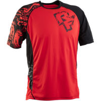 Maillot Race Face Indy (rouge/noir)