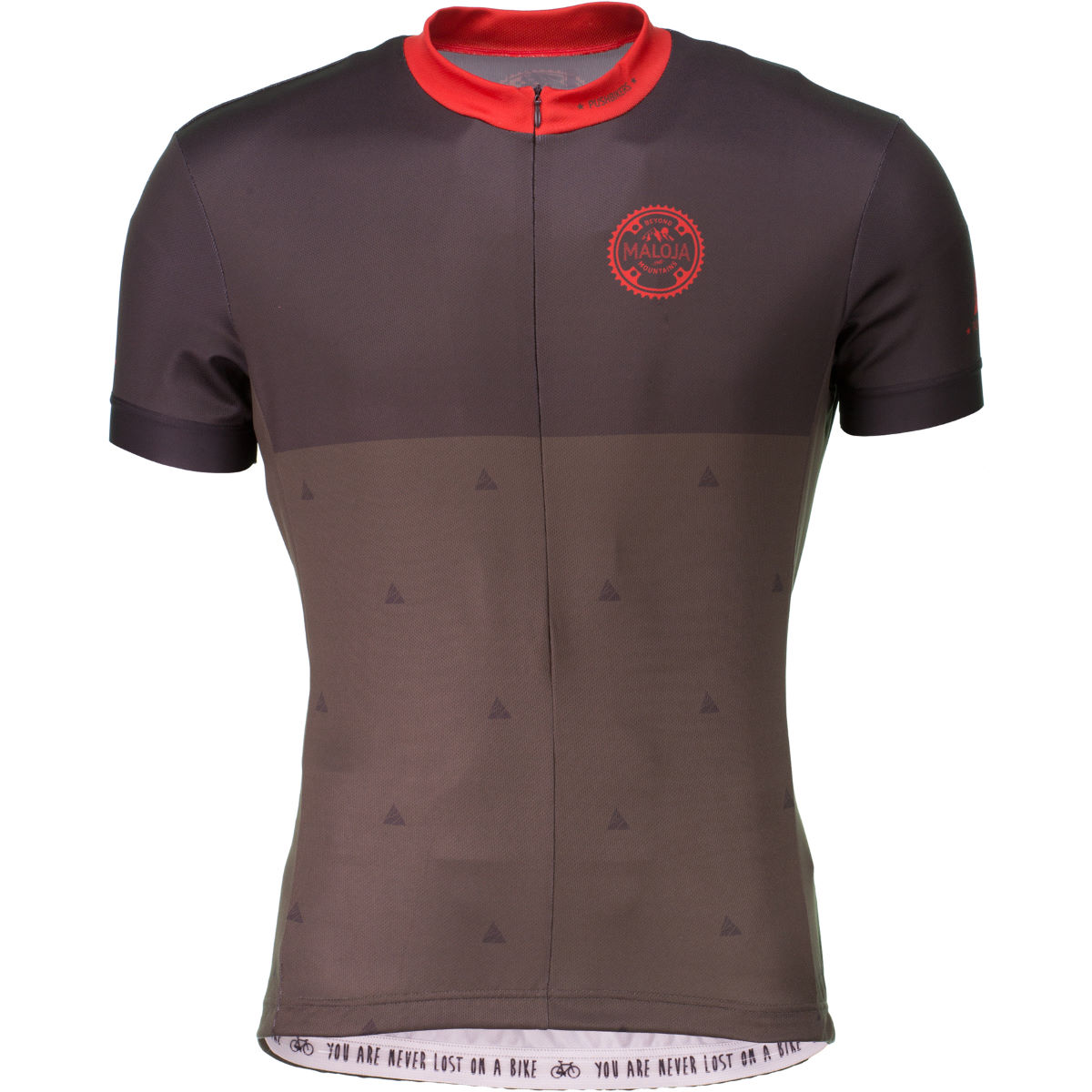 Maillot Maloja PushbikersM.1/2 (manches courtes) - S Charbon