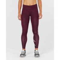 2XU Womens Print Mid-Rise Compression Tights