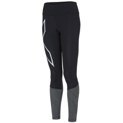 2XU Women's Mid Rise Reflect Compression Tights
