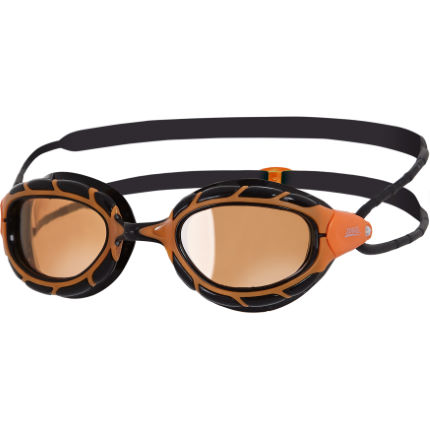 Zoggs Predator Polarized Ultra Goggles Black/Orange One