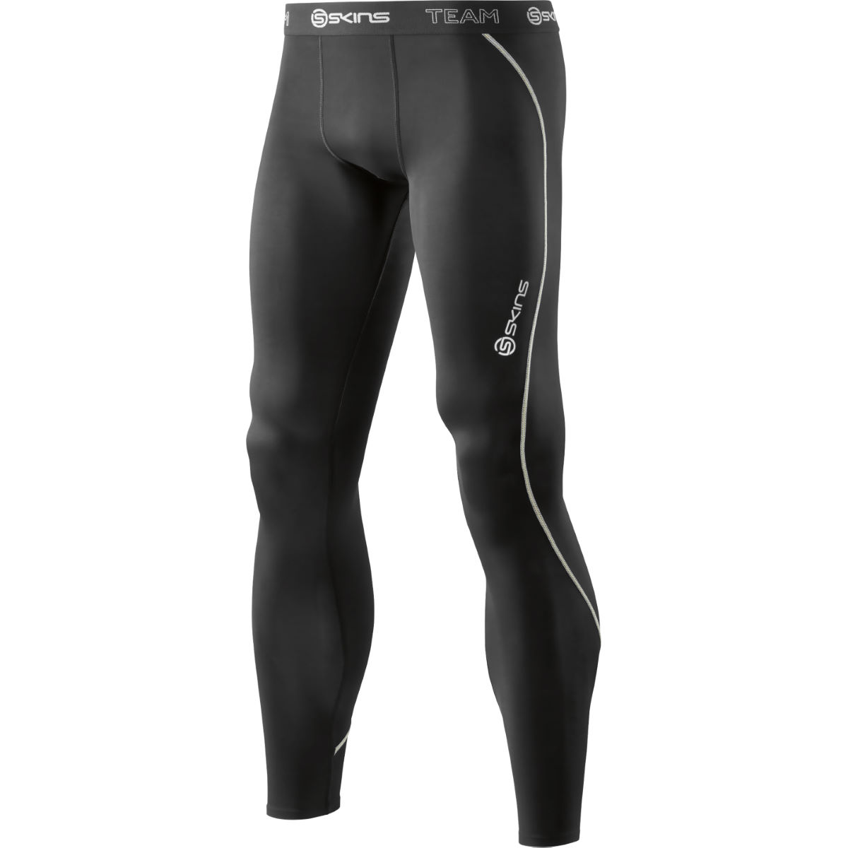 Collant long SKINS DNAmic Team - S Noir Sous-vêtements compression