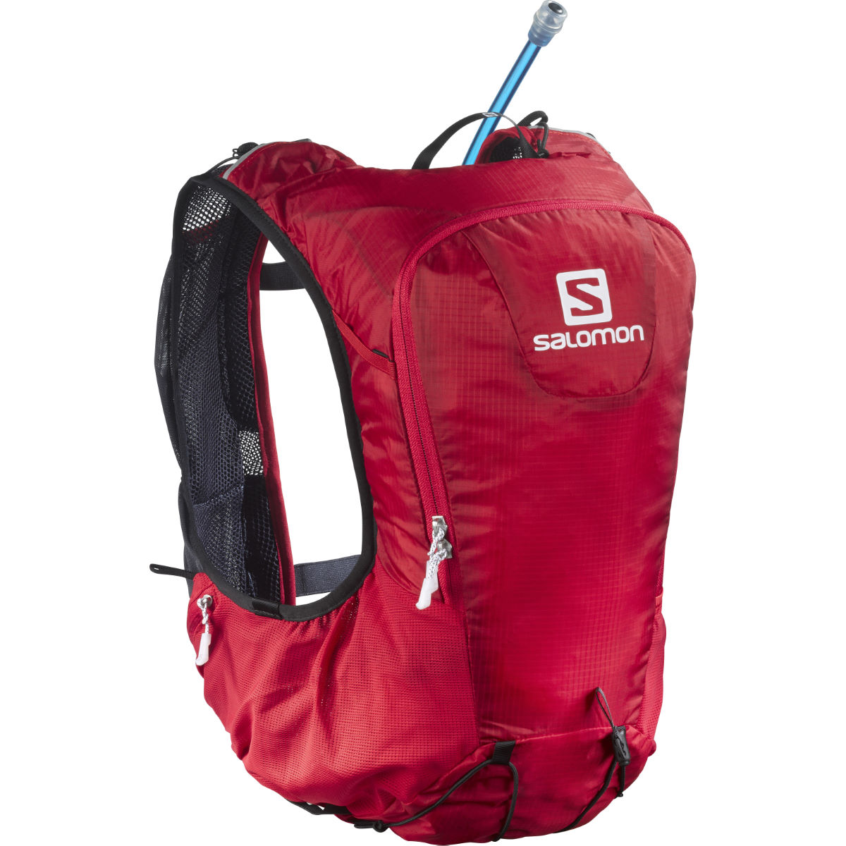 Sac d'hydratation Salomon Skin Pro 10 (rouge/rouge) - One Size Red/Red Sacs d'hydratation