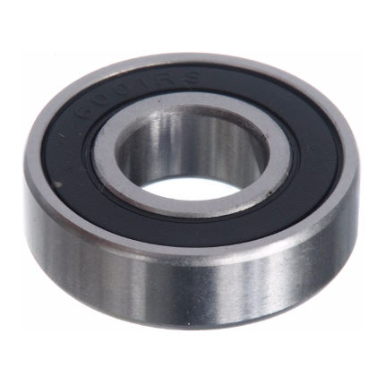 Brand-X Sealed Bearing - 6001 2RS Bearing Silver One Size