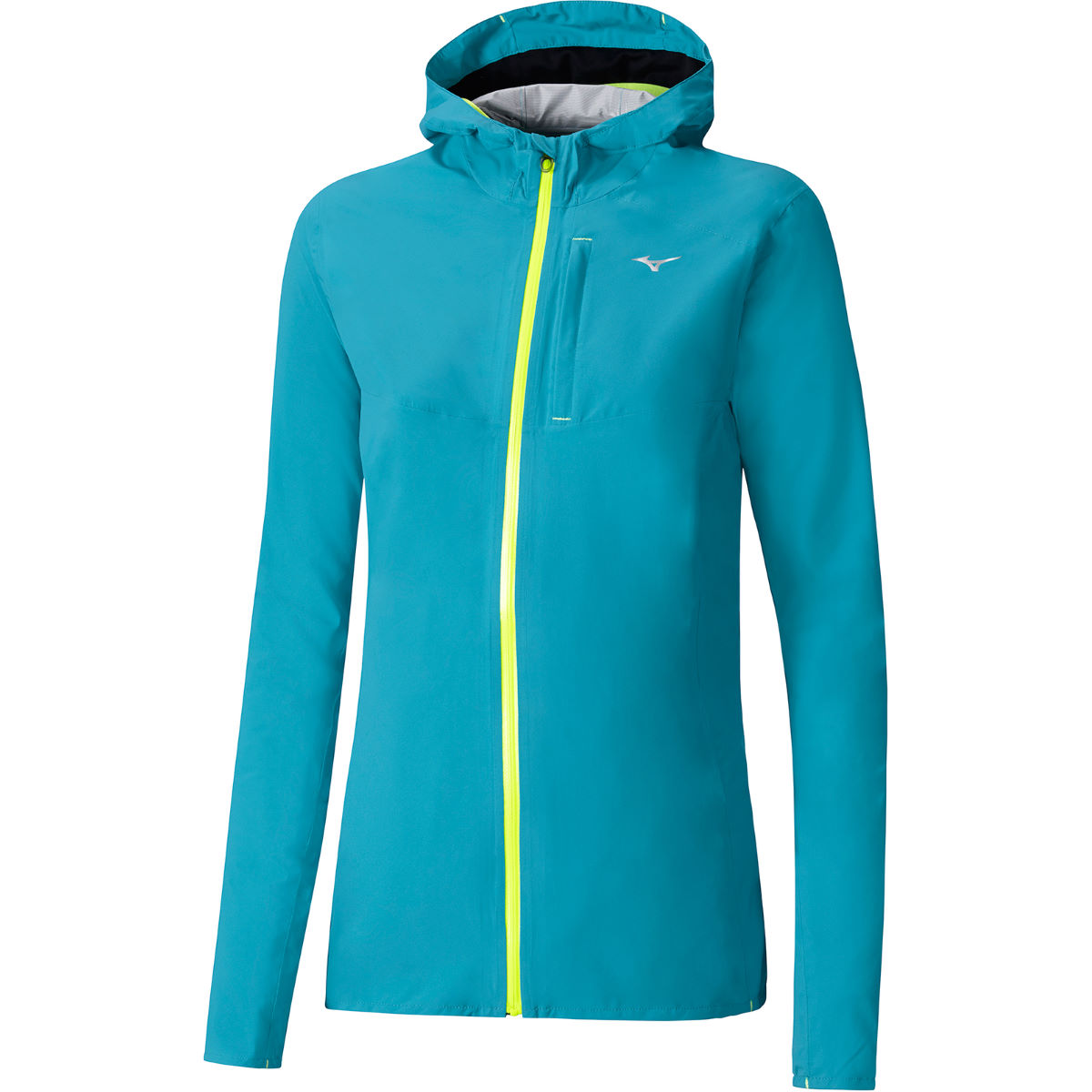 Chaqueta impermeable Mizuno Waterproof 20k para mujer - Impermeables - running
