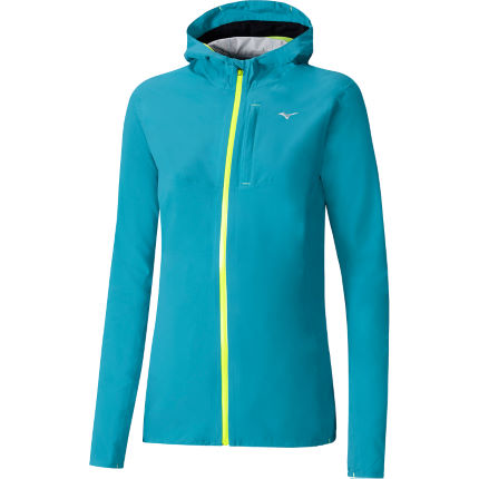 Chaqueta impermeable Mizuno Waterproof 20k para mujer