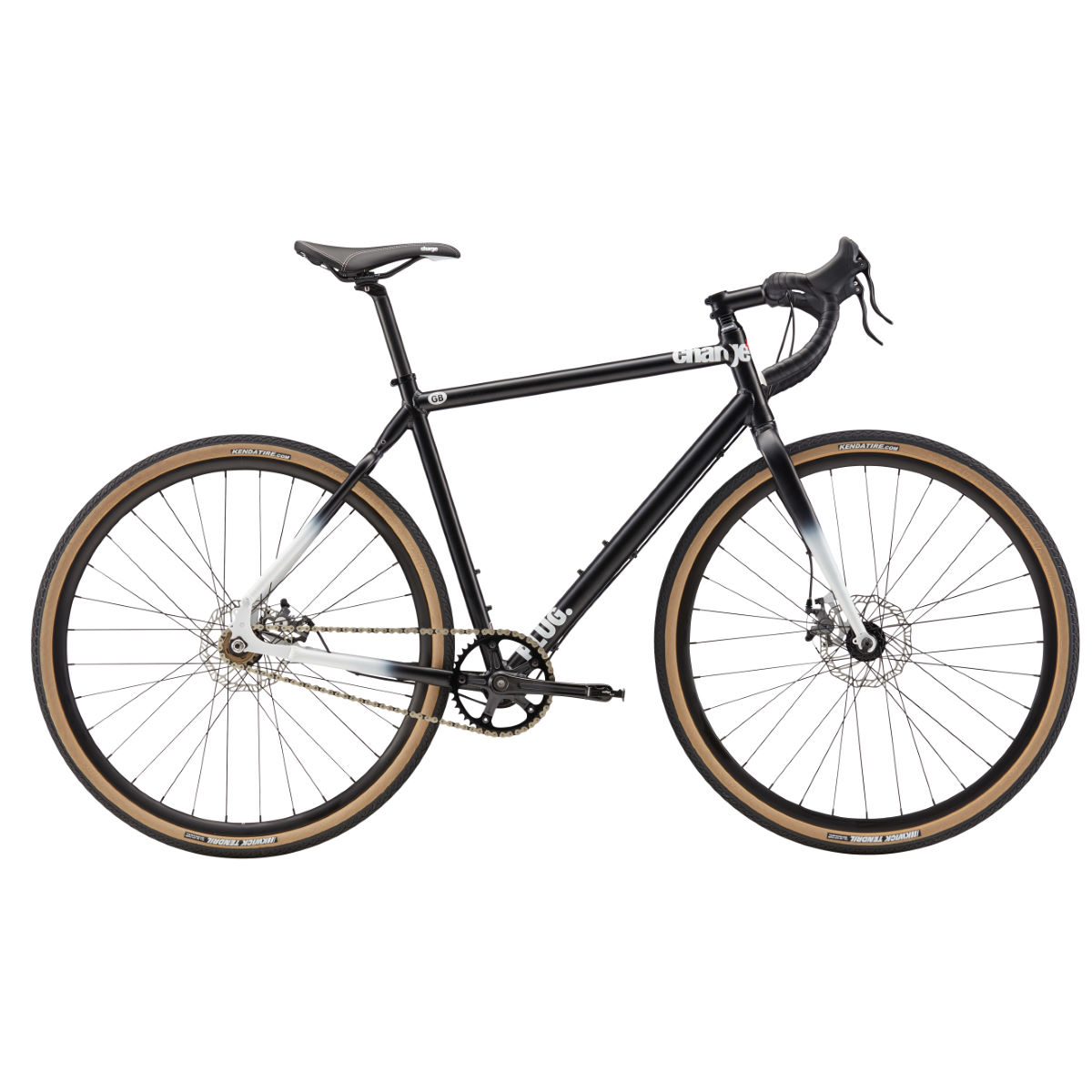 Vélo single speed Charge Plug 1 Disc (2017) - LG Stock Bike Noir Single speed