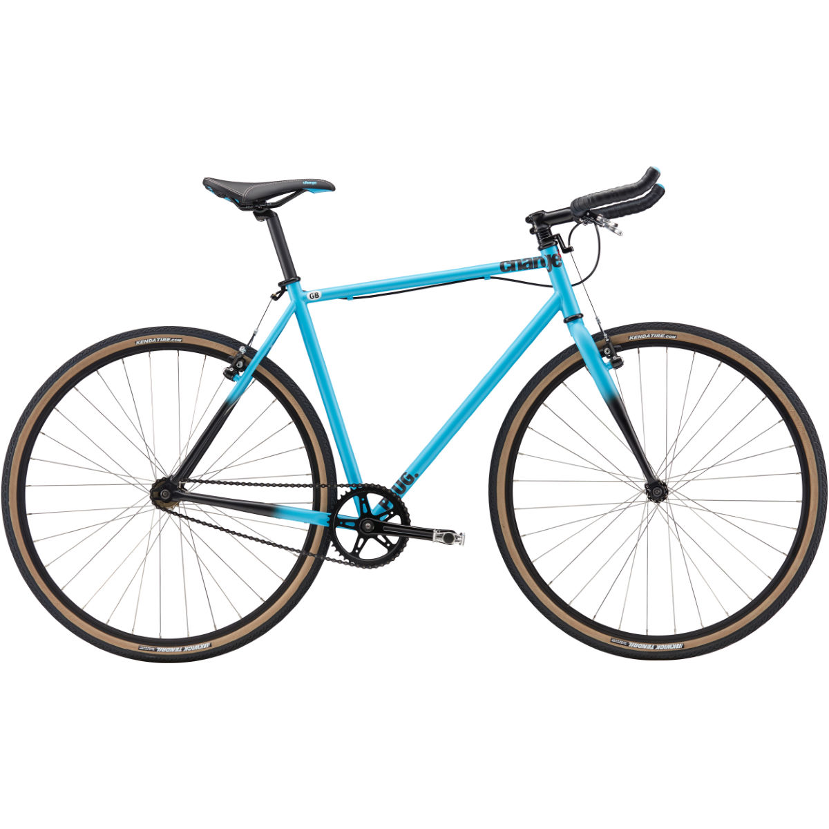 Vélo single speed Charge Plug 0 (2017) - MD Stock Bike Bleu
