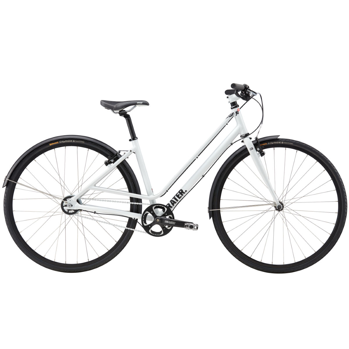 Vélo Charge Grater Mixte 2 (hybride, Alfine, 2017) - LG Stock Bike Cool Grey Vélos hybrides & ville