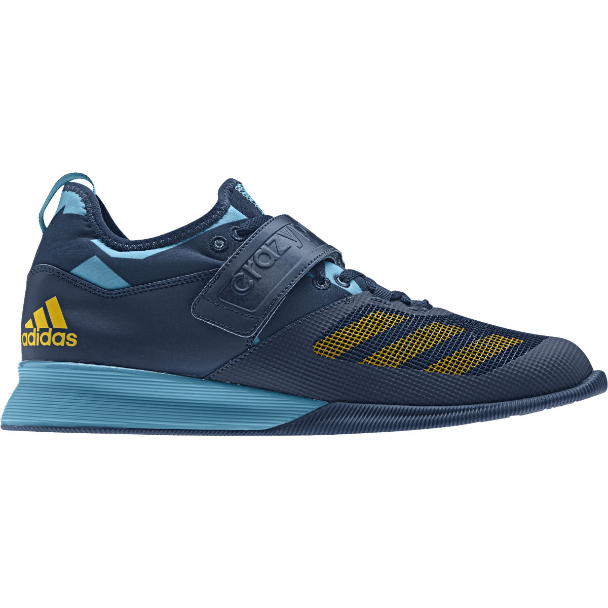 Chaussures Adidas Crazy Power - UK 13 Blue/Yellow