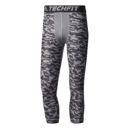 adidas Techfit Chill Three-Quarter Print Tights