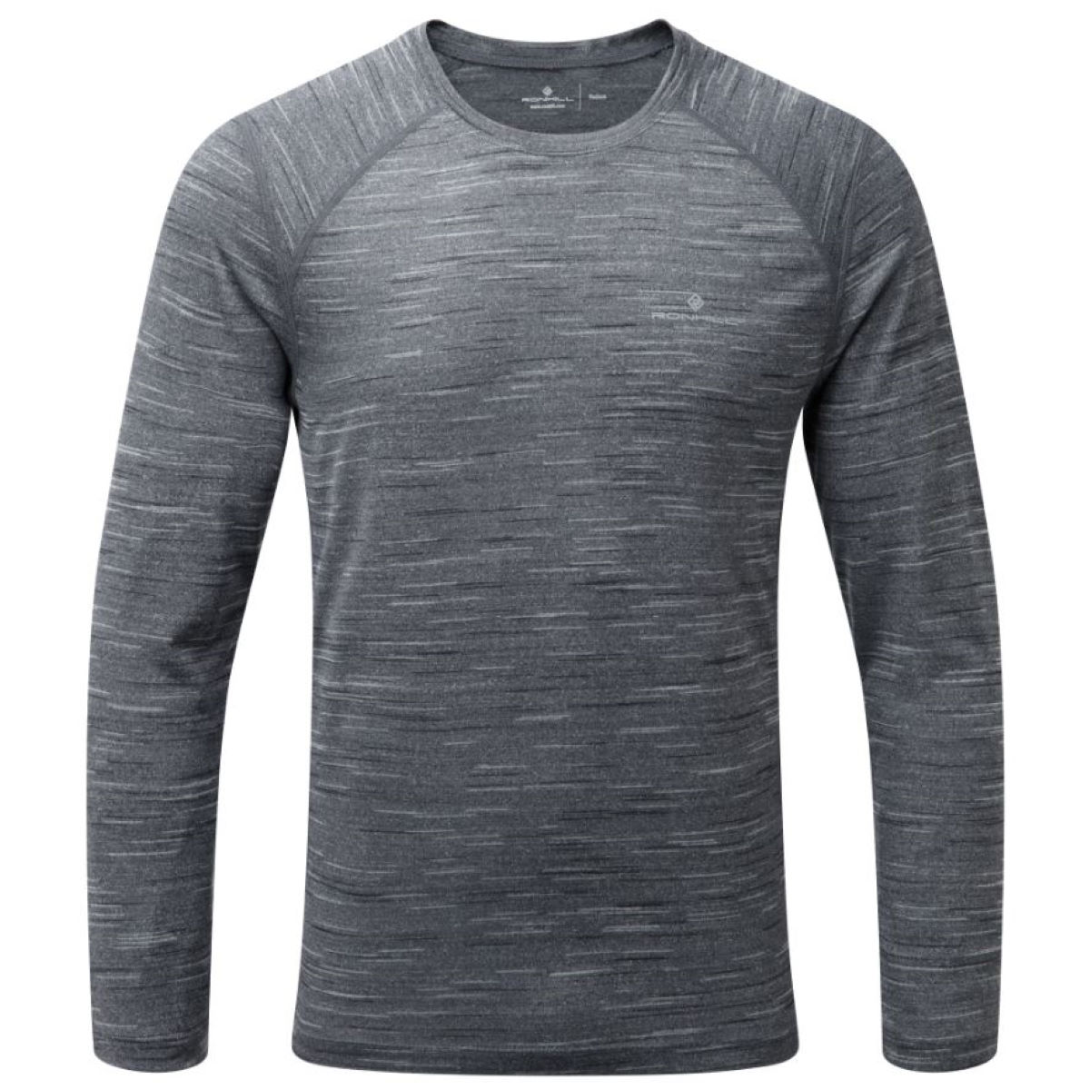 Maillot Ronhill Momentum (manches longues) - M Charcoal Marl