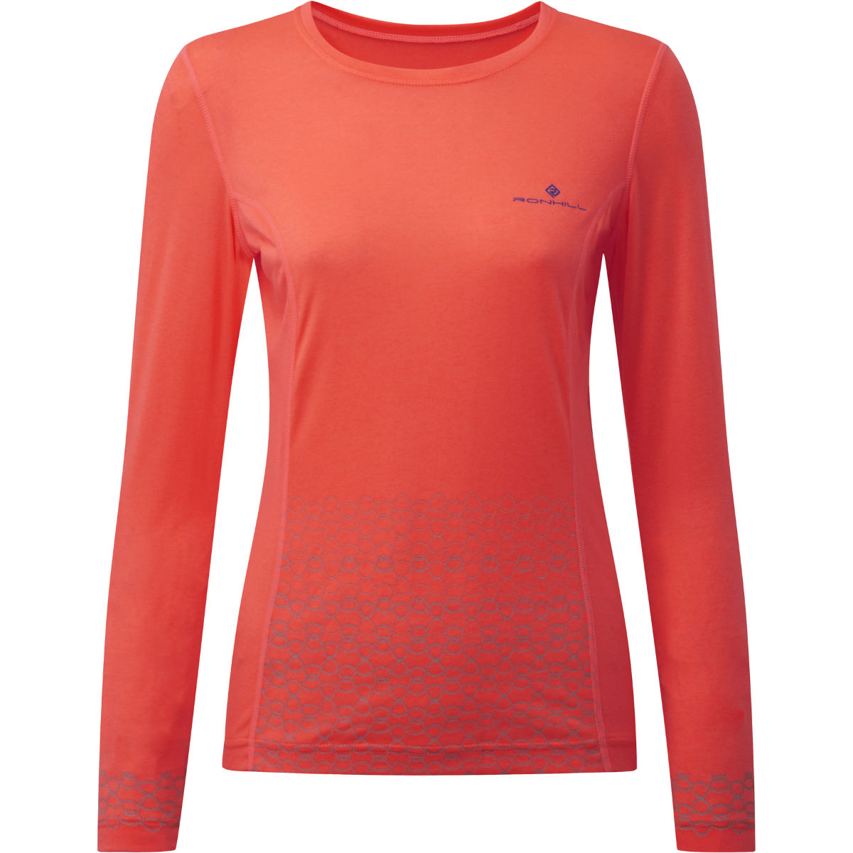 Maillot Femme Ronhill Momentum Sirius (manches longues) - XS