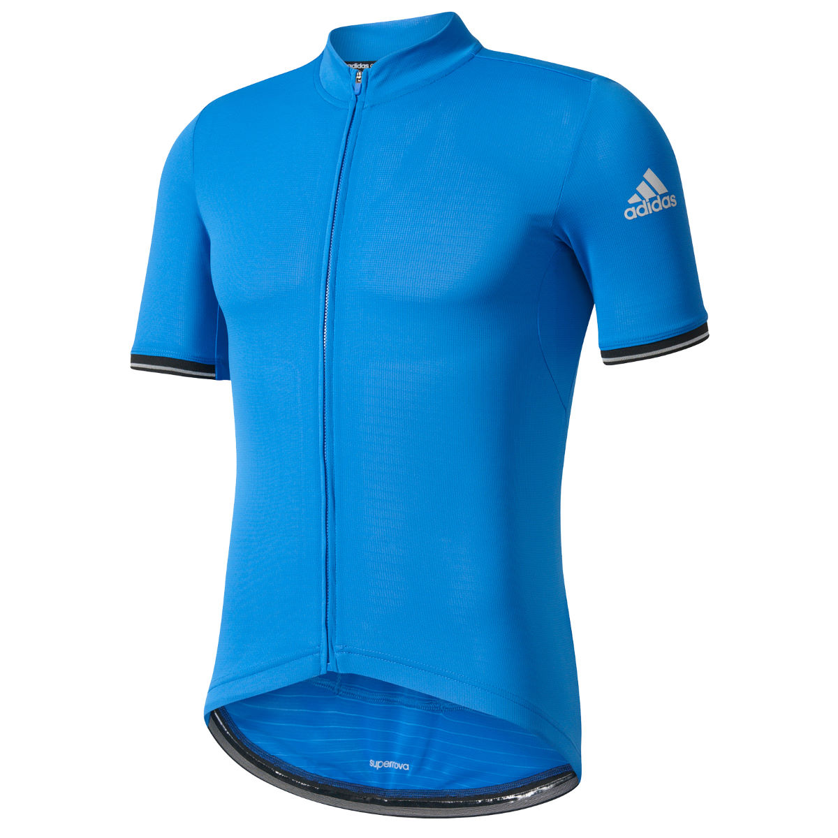 Maillot Adidas Cycling Clima Chill (manches courtes) - M Bleu