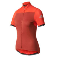 Adidas Cycling Womens Climachill Short Sleeve Jersey