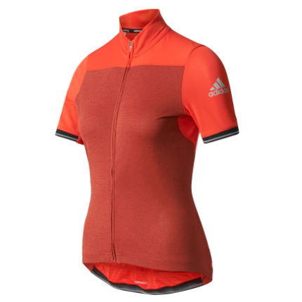 adidas Cycling Women's Climachill Short Sleeve Jersey