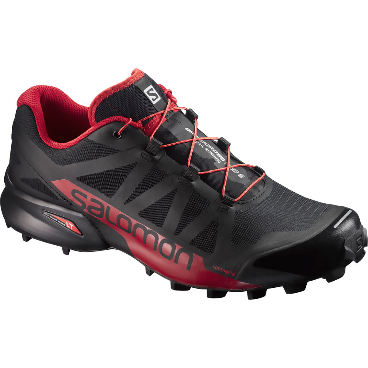 Salomon - Speedcross Pro 2 Shoes - 8.5 black/barbadoes cher