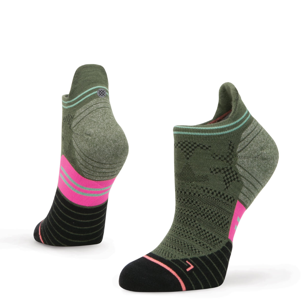 Calcetines Stance Elipse Tab Run para mujer (caña baja) - Calcetines