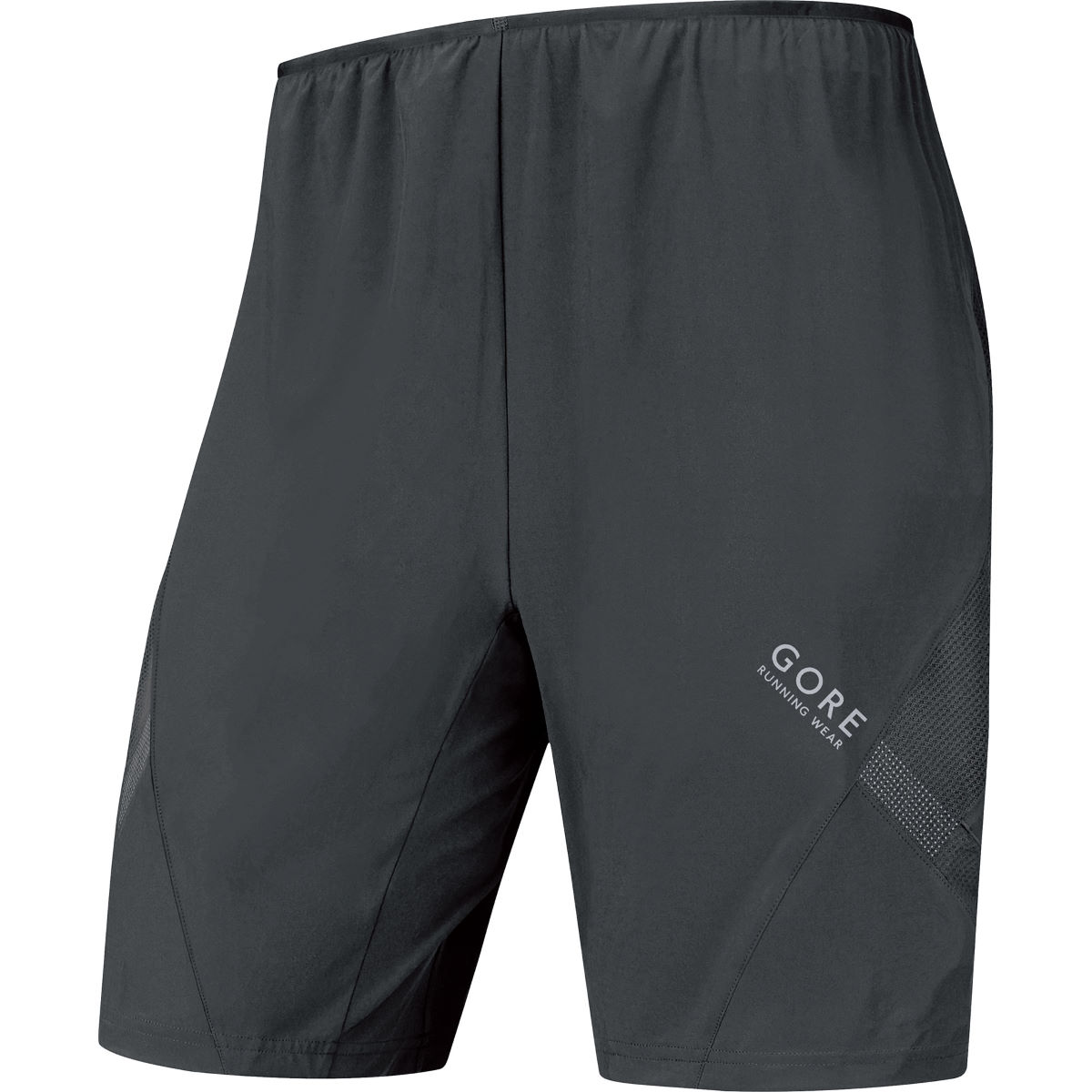 Short Gore Running Wear Air (2 en 1) - S black Shorts de running