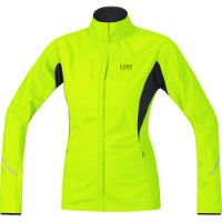 Chaqueta Gore Running Wear Windstopper® AS Partial para mujer