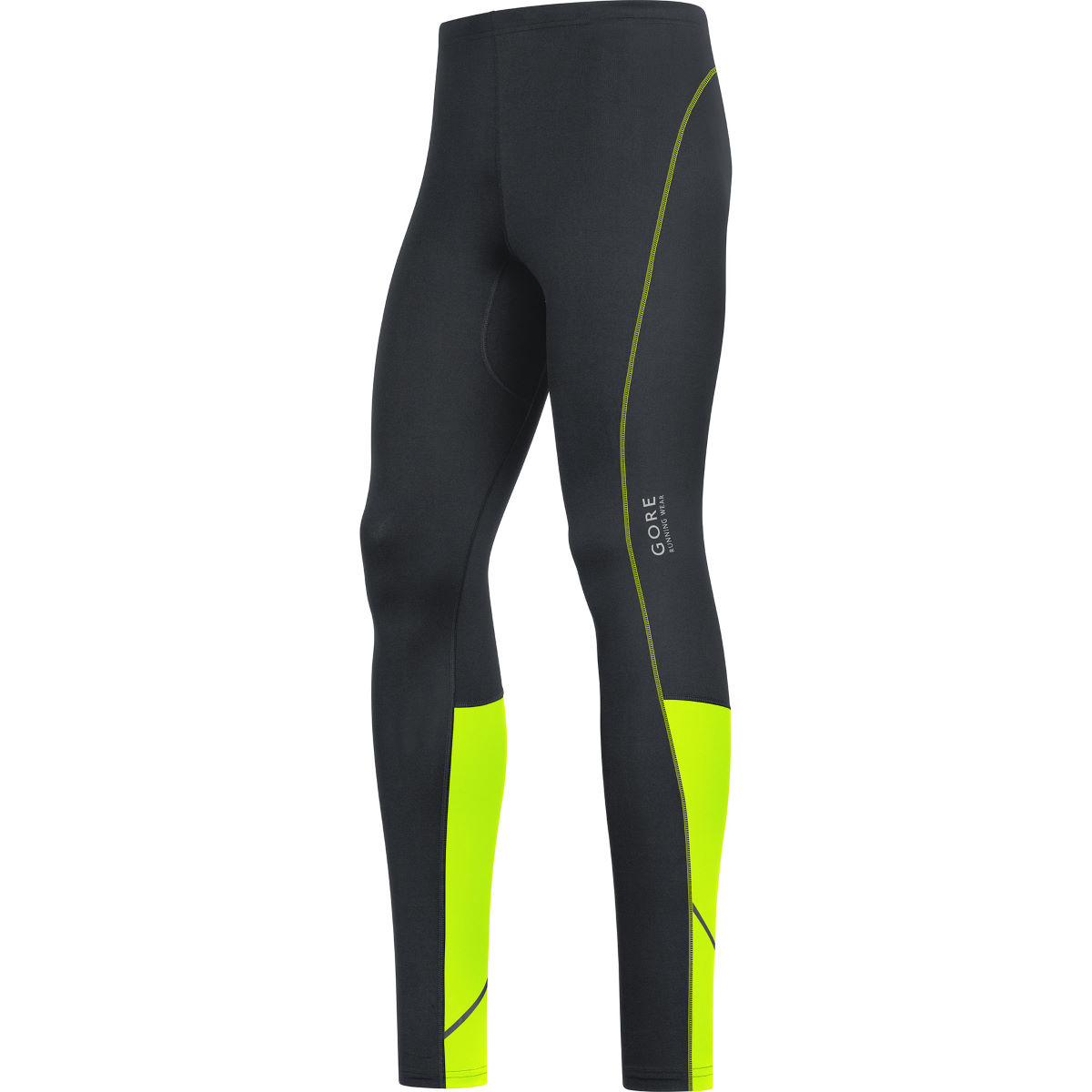 Collant Gore Running Wear Essential - XXL black/neon yellow