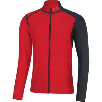 Gore Running Wear Fusion WINDSTOPPER® SO Zip-Off Shirt