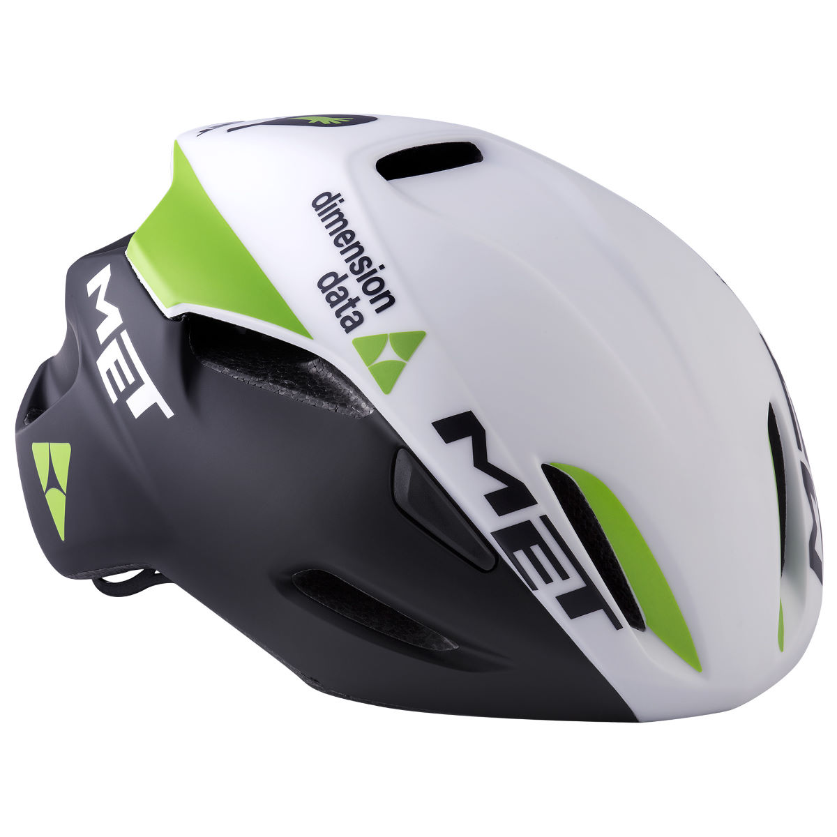 Casque de route MET Dimension Data Manta Aero - Medium