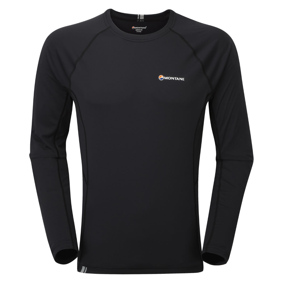 Montane - Sonic Long Sleeve T-Shirt - XL Noir/Noir