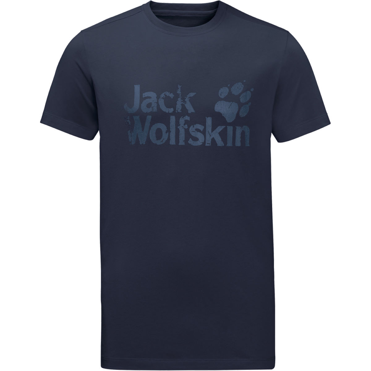 T-shirt Jack Wolfskin Brand - Small Night Blue T-shirts