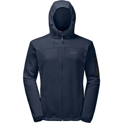 Jack Wolfskin Castle Rock Hooded Jakke - Herre