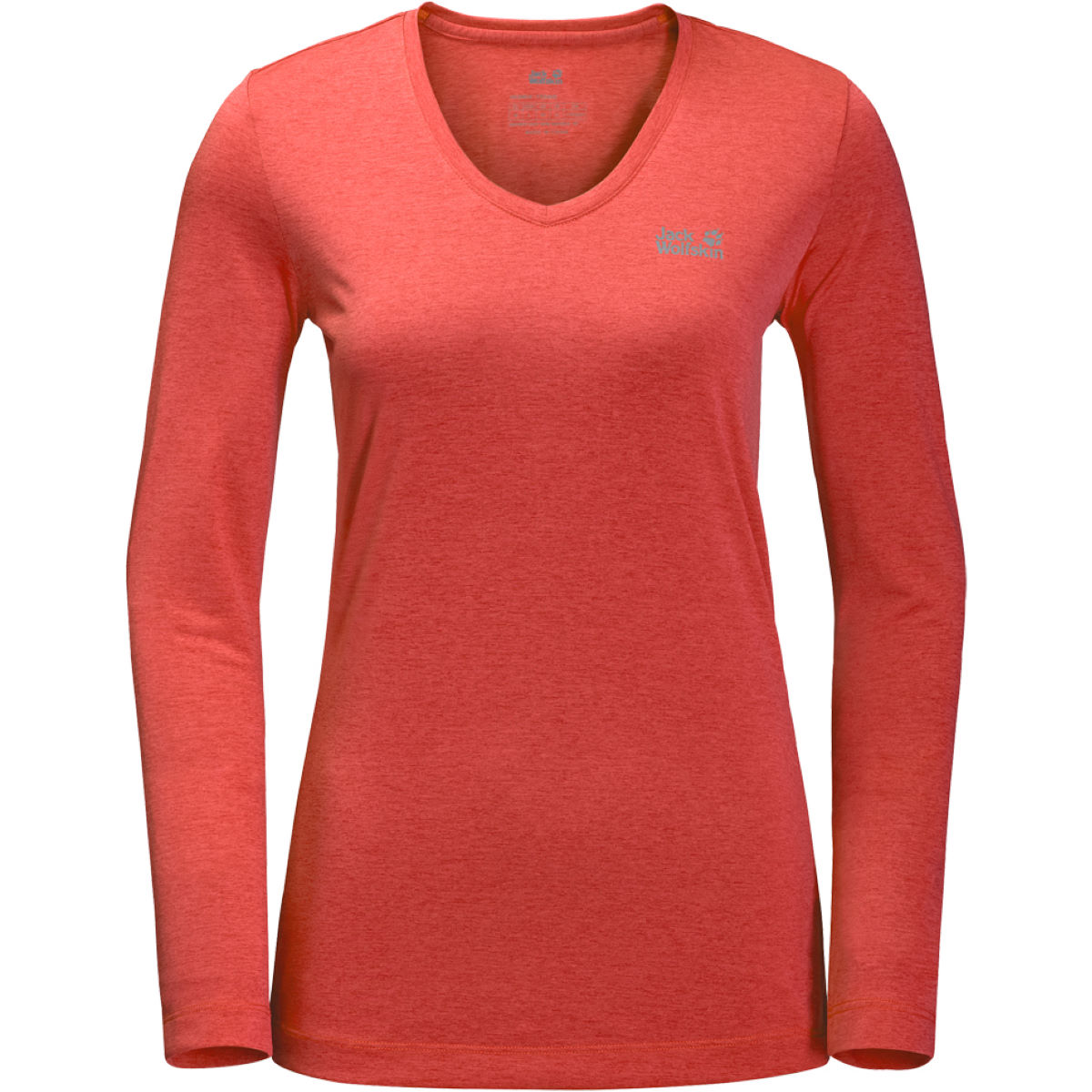 Maillot Femme Jack Wolfskin Crosstrail (manches longues) - Small