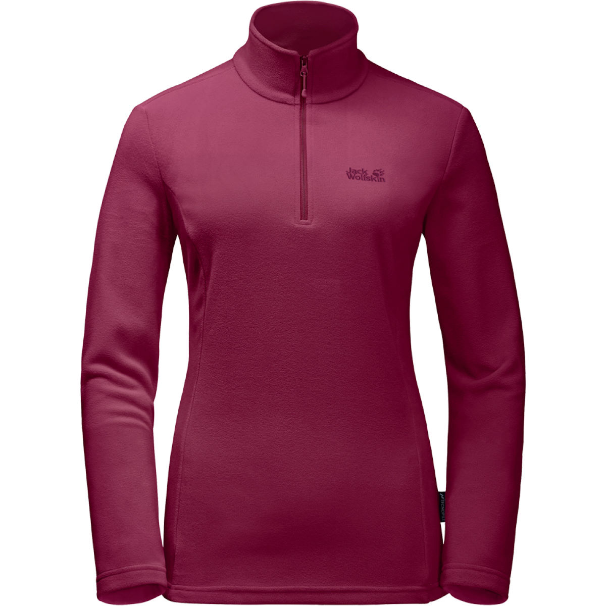 Maillot Femme Jack Wolfskin Gecko - Small Dark Ruby Polaires légères