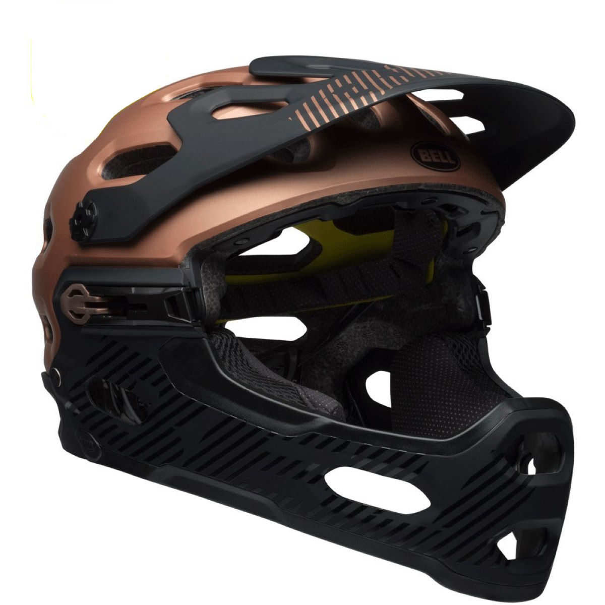 Casque Bell Super 3R MIPS - S Matte/Gloss Copper/B Casques