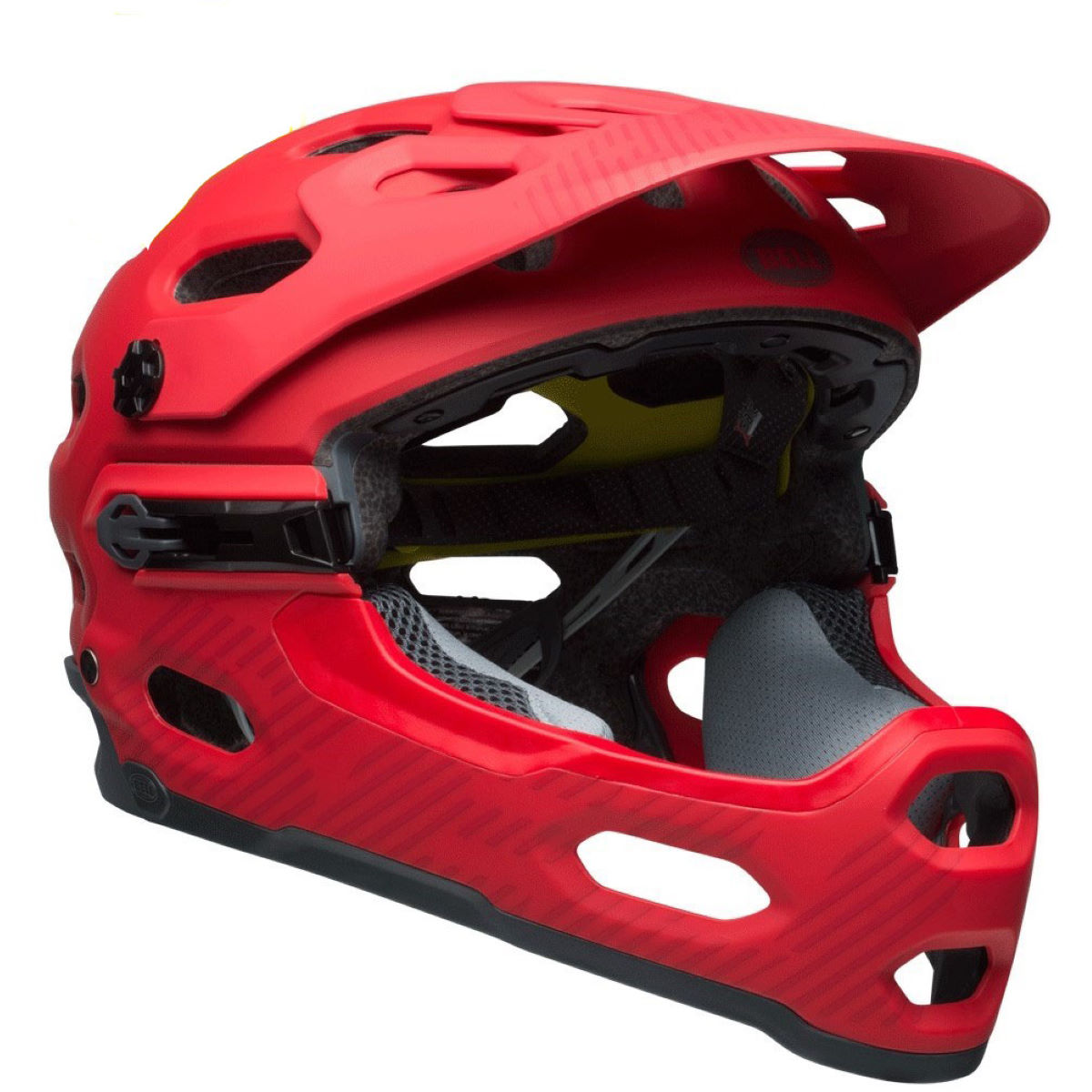 Casque Bell Super 3R MIPS - S Matte Hibiscus Casques