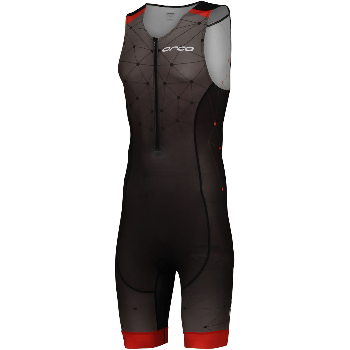 Orca Geo Race Suit Wiggle Exclusive - Small Black/Red/Geo Trifonctions