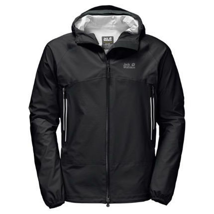wiggle jack wolfskin mountain pass jacket waterproof. Black Bedroom Furniture Sets. Home Design Ideas