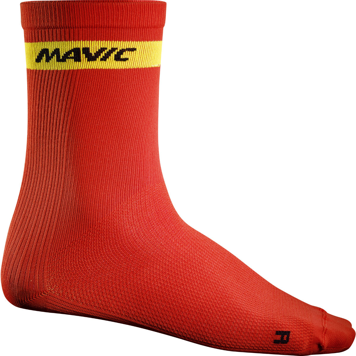 Chaussettes Mavic Cosmic (hautes) - 35-38 Racing Red Chaussettes vélo
