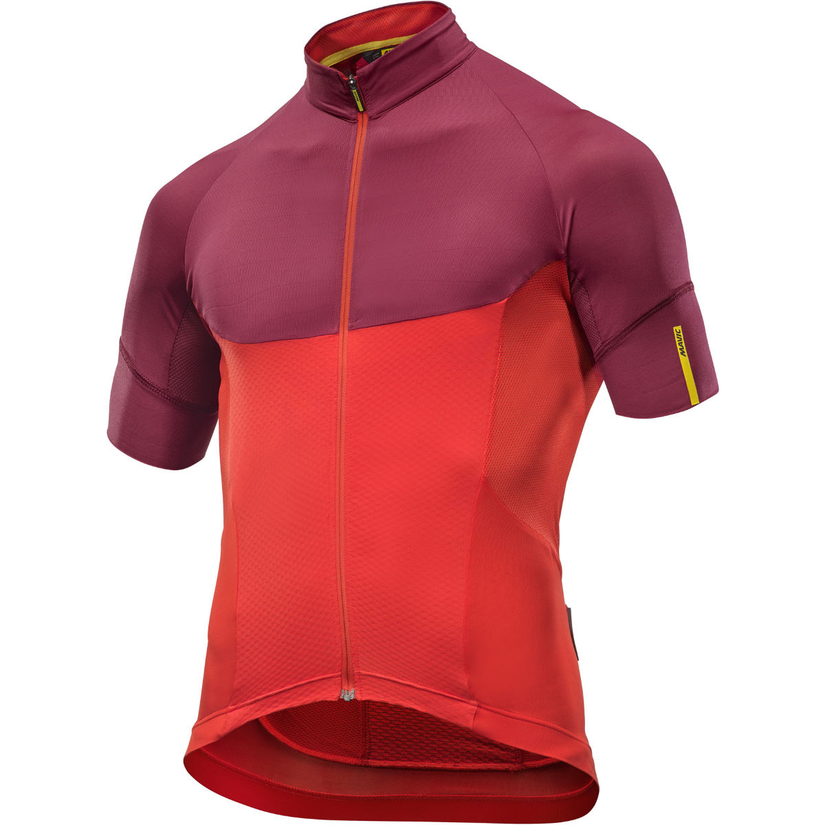 Maillot Mavic Ksyrium Pro - XL Fiery Red/Tibetan Re Maillots vélo à manches courtes
