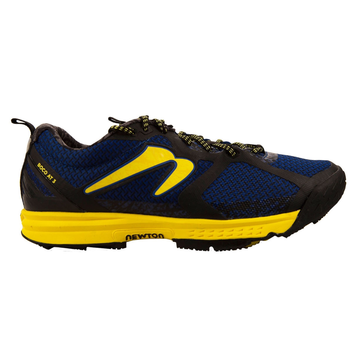 Newton Running Shoes Boco AT 3 Shoes - UK 11 Blue/Yellow