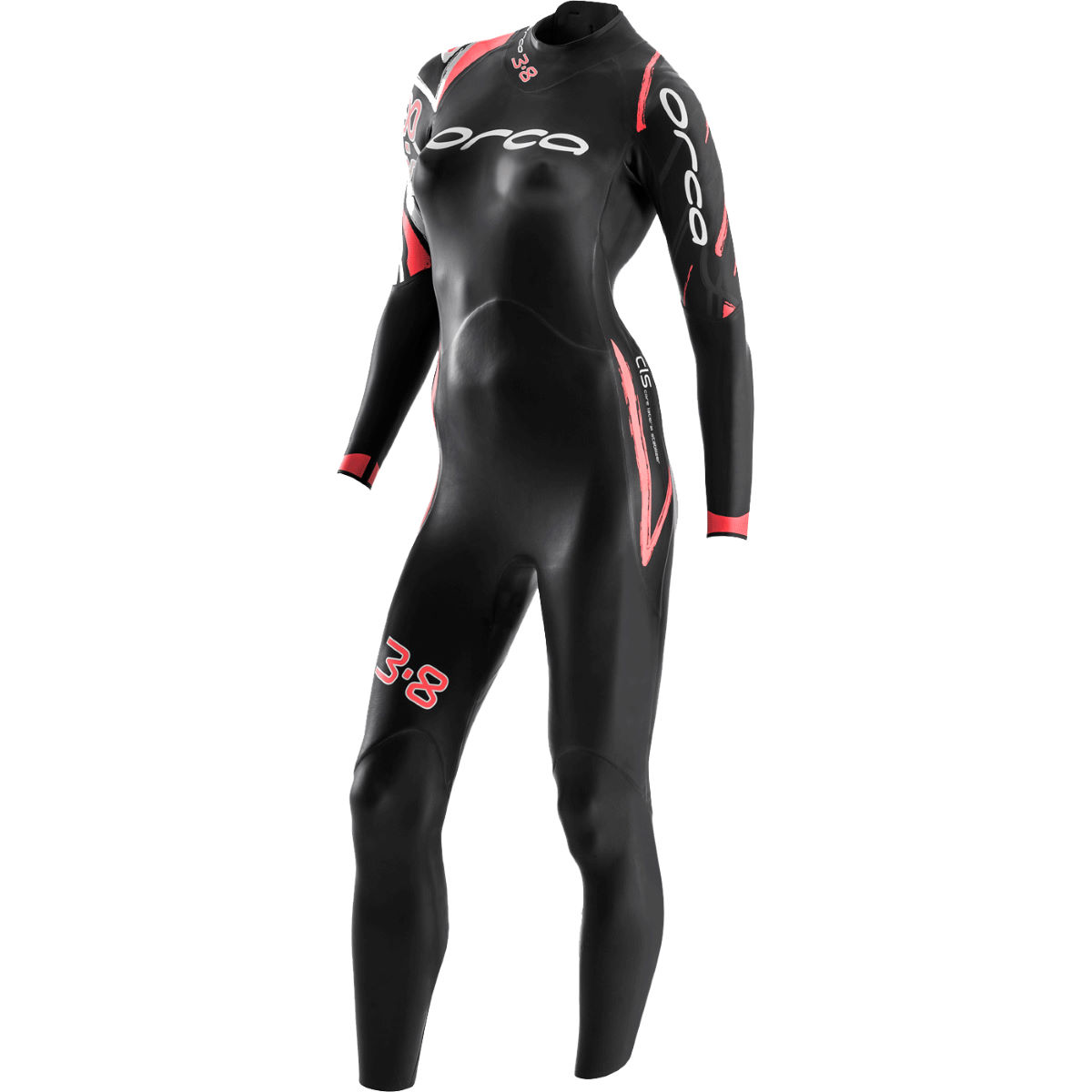 Orca 3.8 Women's Wetsuit - Extra Large Black | Wetsuits