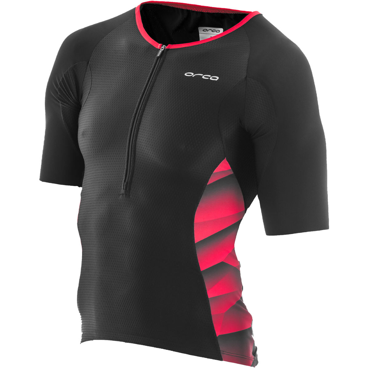 Maillot de triathlon Orca 226 - Extra Small Black/Poinsettia
