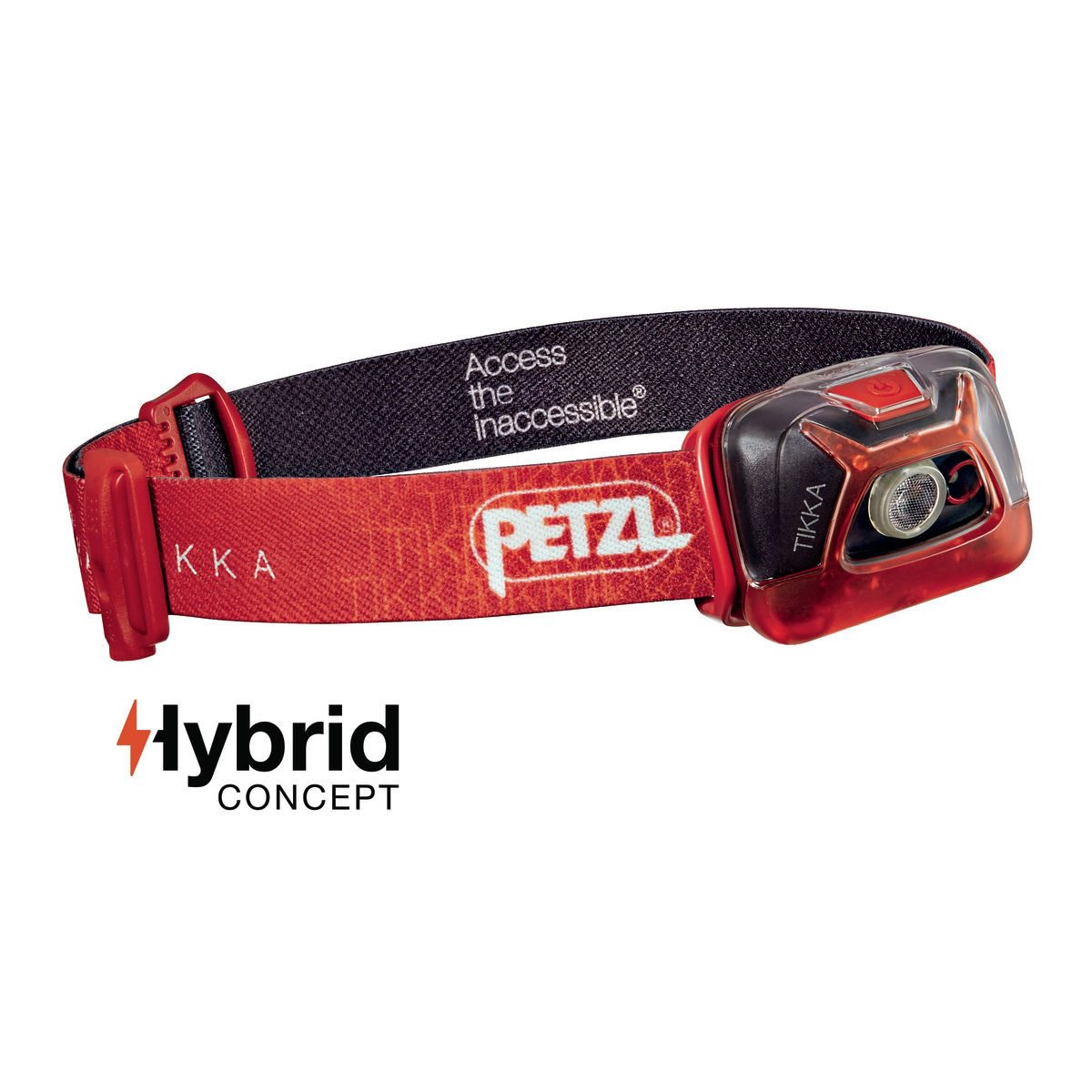 Lampe frontale Petzl Tikka - One Size Rouge Lampes frontales
