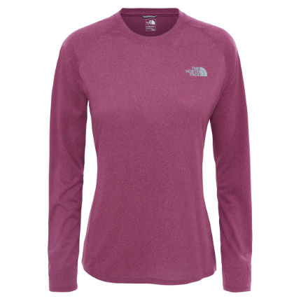 The North Face Reaxion Amp sportshirt voor dames (lange mouwen)