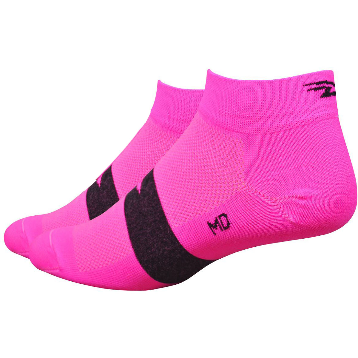 Chaussettes DeFeet Aireator Speede (2,5 cm environ) - M Rose