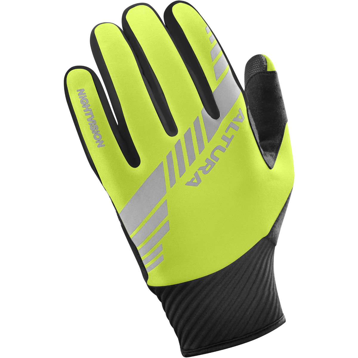 Gants Altura Nightvision 3 (coupe-vent) - M Hi-Viz Yellow/Black