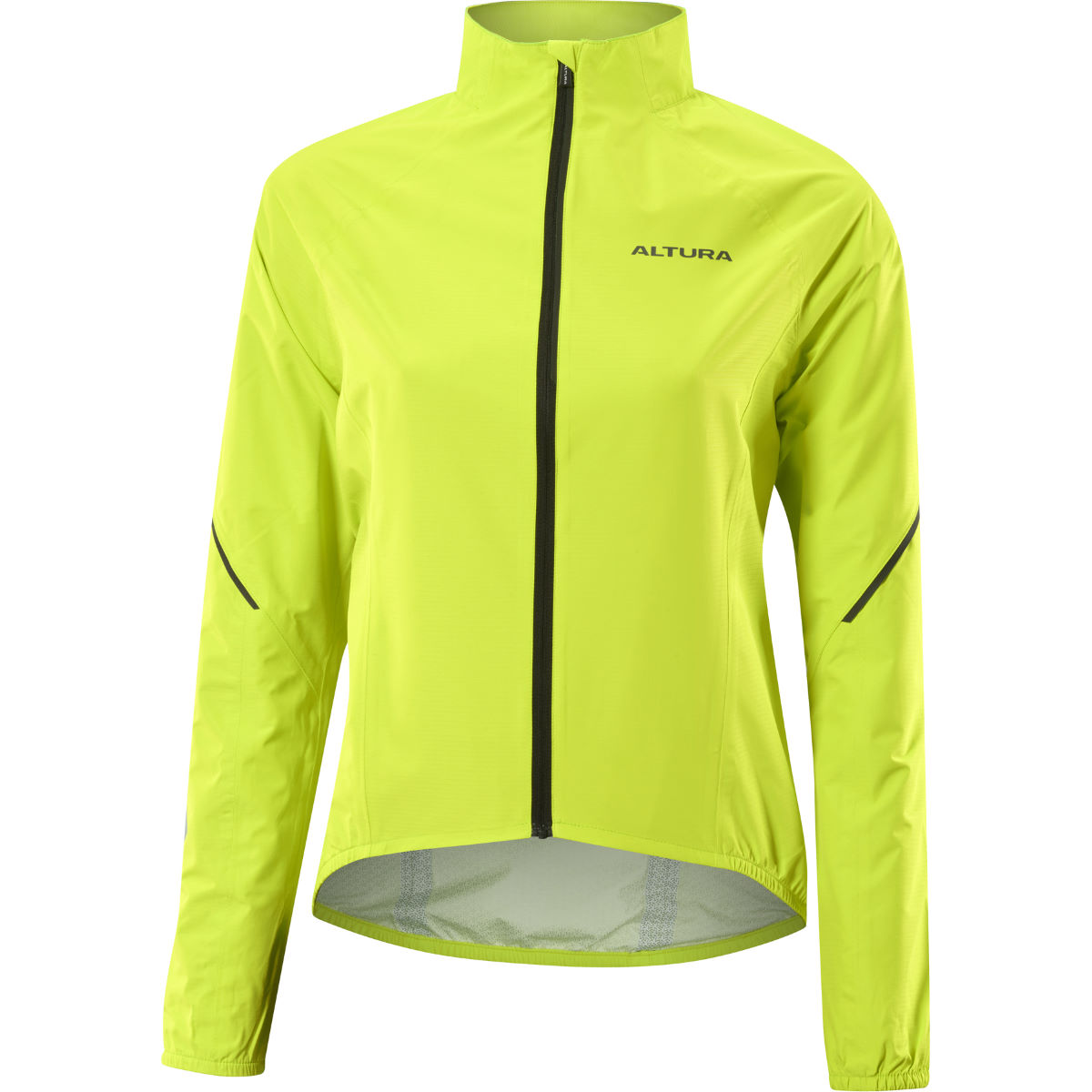 Altura Women's Flite 2 Waterproof Jacket - 12 Hi-Viz Yellow