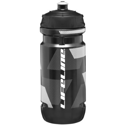 LifeLine Lifeline Water Bottle 800ml White/Black 701ml-800m